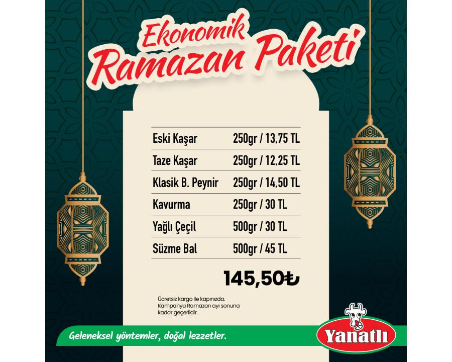Ekonomik Ramazan Paketi