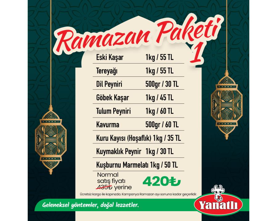 Ramazan Paketi 1