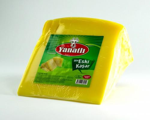 Dilim Eski Kaşar Peyniri (1 Kg)